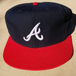 NWOT Atlanta Braves New Era wool fitted cap